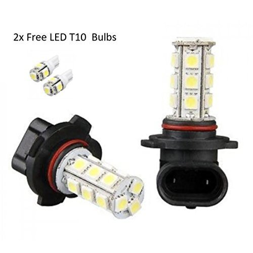 HB4 9006 LED X2 18 SMD Fog Light Xenon Bulbs Canbus Error FreE On OnBuy