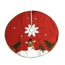 Christmas Tree Skirt Snowman Xmas Tree Skirt Christmas Decoration 100cm