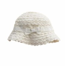 Summer Baby Girl Caps Cotton Sun Hat For 2-3 Years Baby White Lace