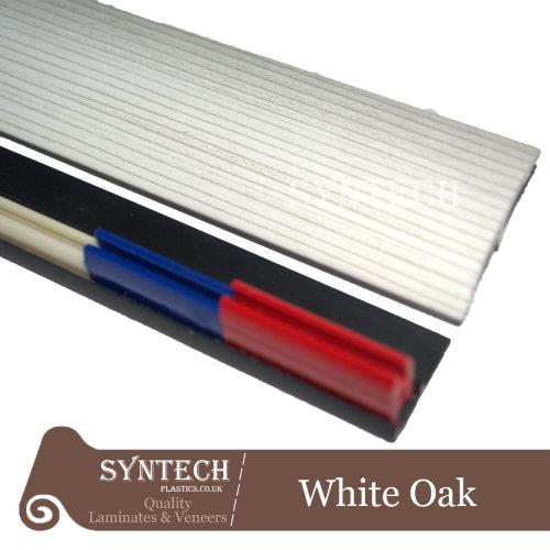 White Oak Multi Purpose Threshold Strip 38x90cm Adhesive Clip System