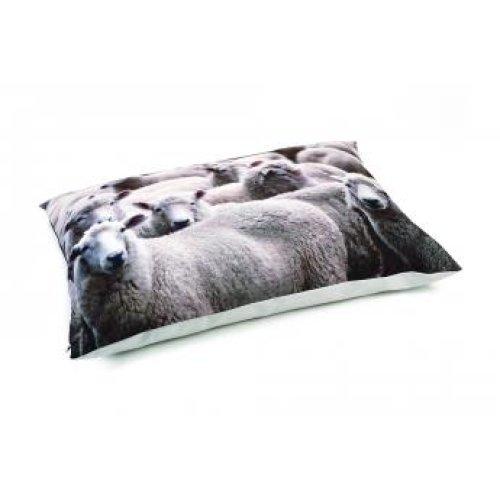 Beeztees Lounge Cushion Sheep Beige 100x70cm
