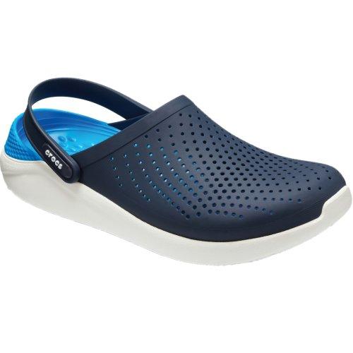 Crocs LiteRide Clog 204592-462 Mens Navy Blue slides Size: 12 UK