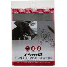 X-Press Transfer Paper A4 20/Pkg-Graphite