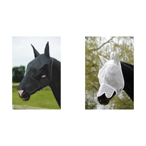 Weatherbeeta Buzz Away Fly Mask With Nose