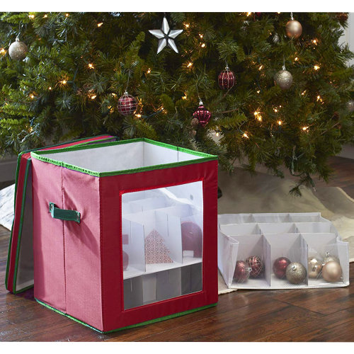 27 Christmas Baubles Storage Box