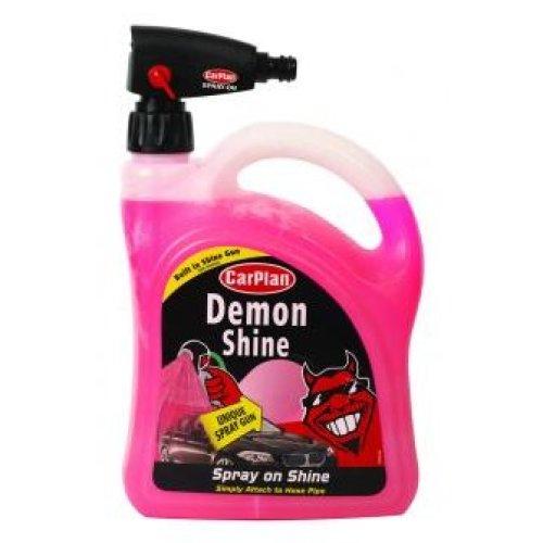 CarPlan Demon Shine Pour 2Ltr With Gun