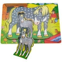 Bigjigs Chunky Animal Puzzle - Horse