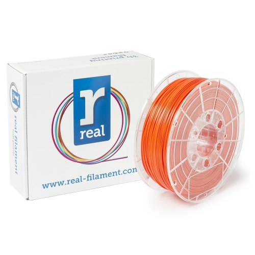 Real Filament 8719128324913 Real PLA, Spool of 1 kg, 1.75 mm, Orange