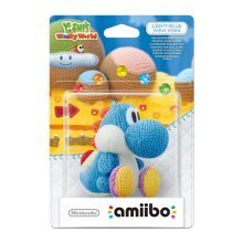 Amiibo Yarn Yoshi Light Blue Character Nintendo Wii U/3DS