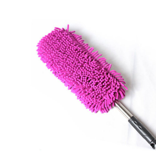Highly Absorbent Cleaning Supplies Chenille Yarn Car Duster/Dust brush,PINK
