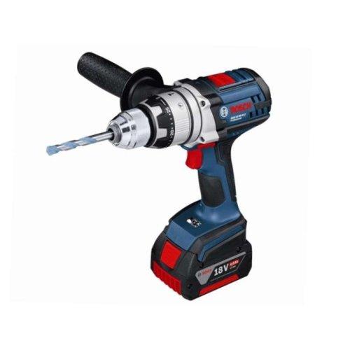 Bosch GSB18VE2-LIRS 18v (1 x (5.0 Ah L-BOXX) ROBUSTseries Combi Drill