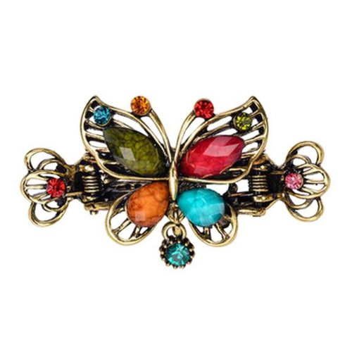 Chinese Design Hair Claws/Clips Vintage Hair Barrettes, Butterfly Clips, D