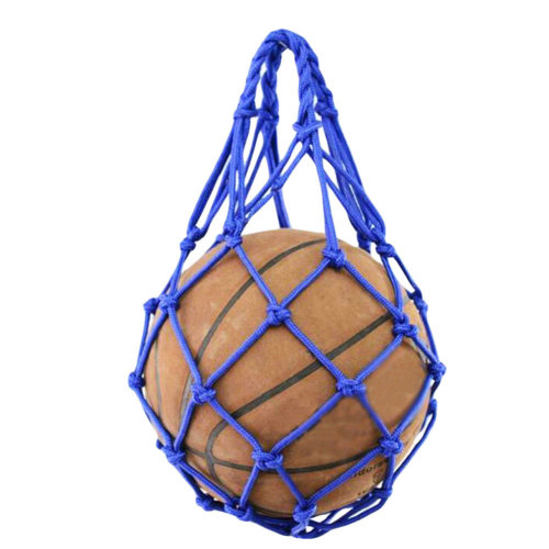 Cool Blue Personal Basketball Net Mesh Bag Volleyball Football Storage