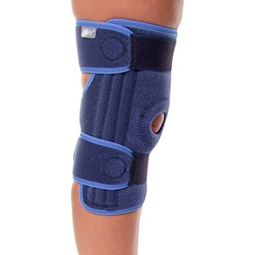 14d7af2f9e 66fit Stabilised Open Knee Support - One Size Unisex Adjustable Injury  Protection Brace on OnBuy
