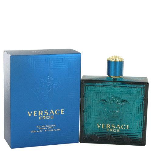 Versace Eros by Versace Eau De Toilette Spray 6.7 oz