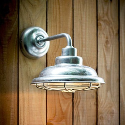 Galvanised Mariner Light