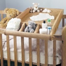 Amelia Oak Cot-Top Baby Changer