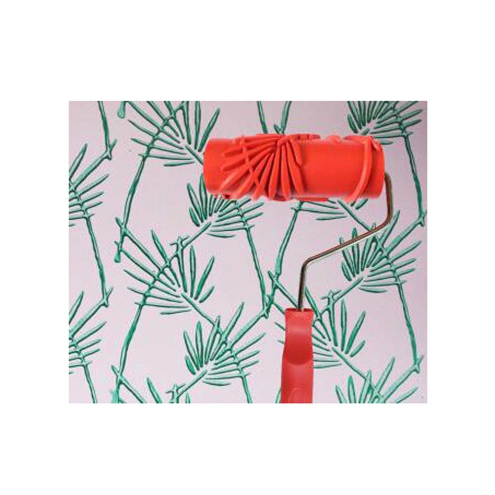 Classical Embossed Paint Roller Wall Painting Runner Wall DIY Tool, Pattern  07