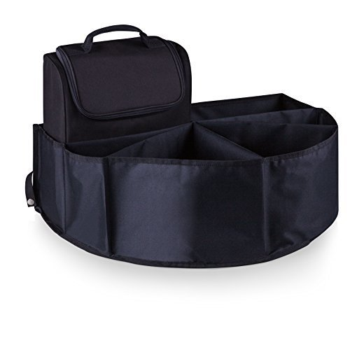 Oniva A Picnic Time Brand Trunk Boss Organizer With Cooler Black