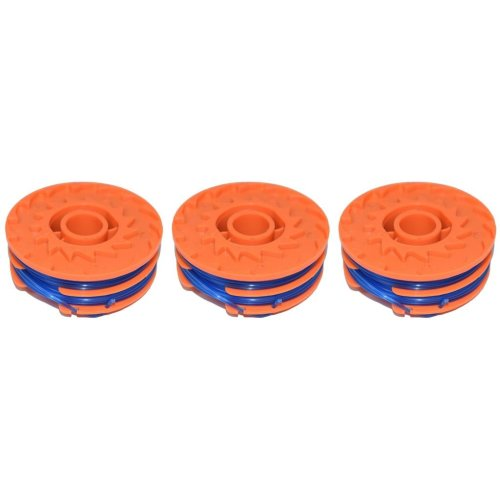 3 x Spool & Line For Qualcast GT30 & GGT450A1 450 Watt Strimmers 5 Metre