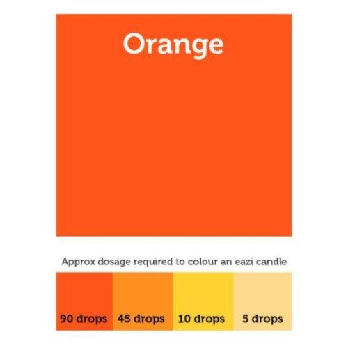 EaziCandle Orange High Intensity Liquid Candle Dye