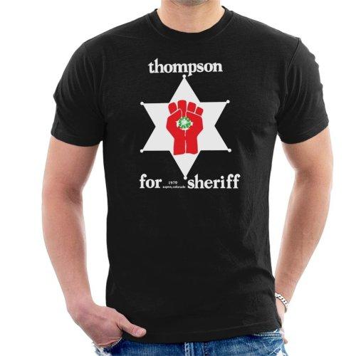 Hunter S Thompson For Sheriff Men's T-Shirt
