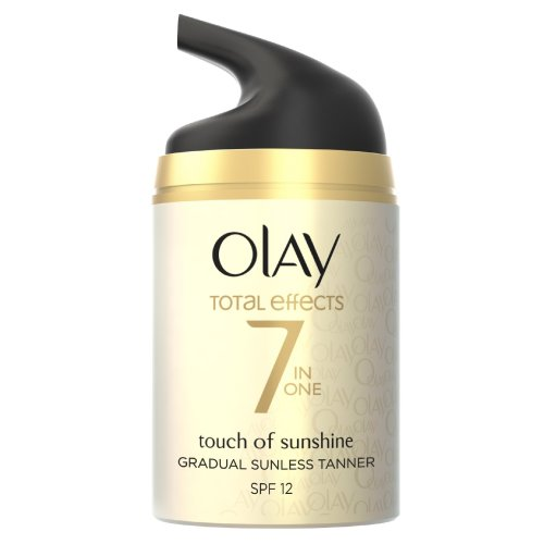 Olay Anti-Ageing Total Effects 7 in one Touch of Sunshine Moisturiser, 50 ml