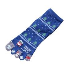 Beautiful Blue Tube Socks Warmming Toe Scoks