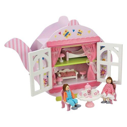 Wooden Tea Dolls House