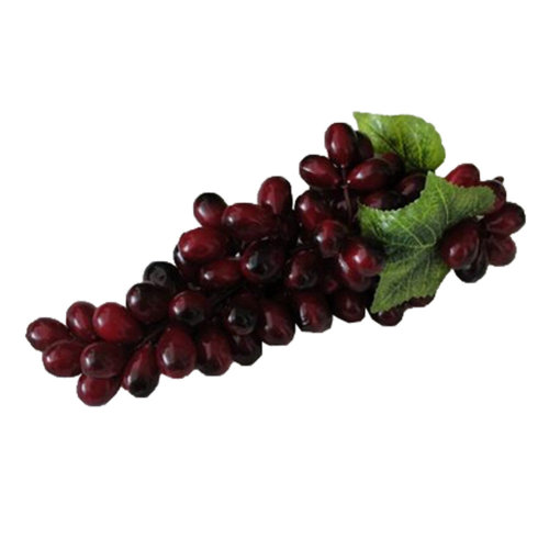 SimpleStyle Home Decor Realistic Artificial Fruits Play Food, Purple Grapes