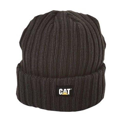 Caterpillar Night Watch Hat Black