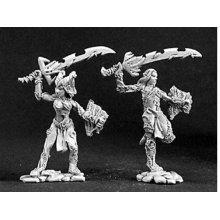 Reaper Miniatures Dark Heaven Legends 03127 Fallen Elves (2)