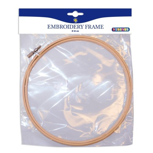 Pbx2470977 - Playbox - Embroidery Frame W/ Screw - Ï 20 Cm, 8 Mm -