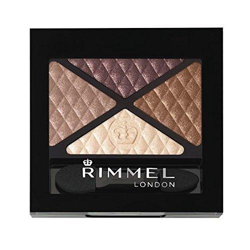 Rimmel London Glam Eyes Eyeshadow Quad - 02 Smokey Brunette