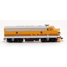Bachmann Industries F7-A DCC Ready Diesel HO Scale Denver and Rio Grande Western Locomotive