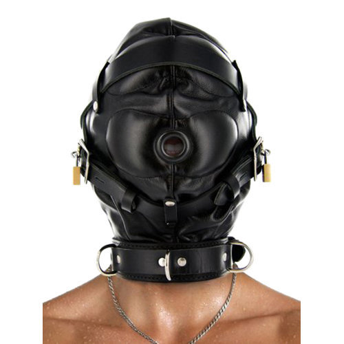Strict Leather Sensory Deprivation Hood S/M BDSM Masks - Strict Leather