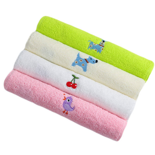 Toddler and Kids Absorbent Cotton Towel for Boys and Girls
