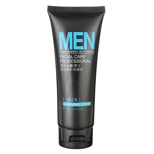 LAIKOU Men Ocean Energy Oil-control Deep Cleansing Facial Cleanser Moisturizing Face Care