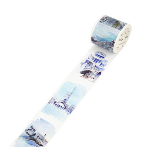Decorative Craft Masking Tape DIY Crafts Gift Washi Tape 40mmx7m,Iceland