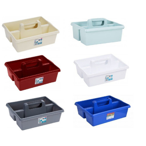 Plastic Kitchen Cleaning Utility Caddy Tidy Organizer