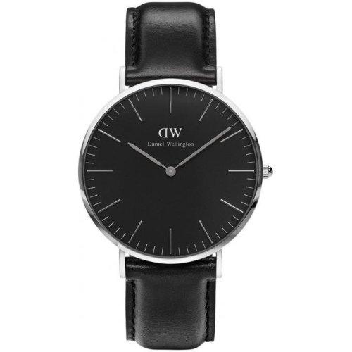 Daniel Wellington Sheffield DW00100133 Watch Black Leather Man