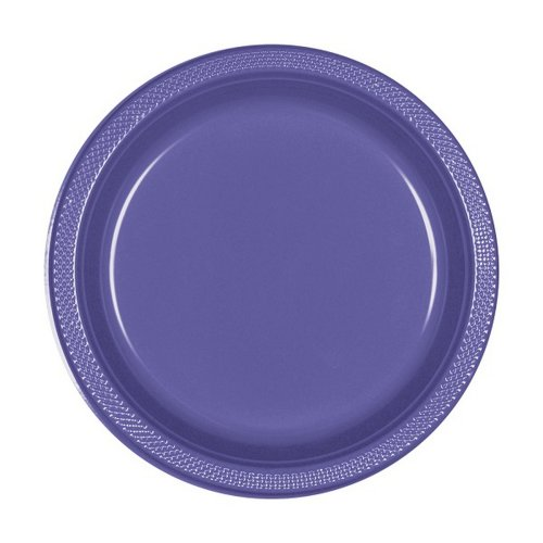 Amscan 7 Inch Plastic Plates (Pack Of 20)