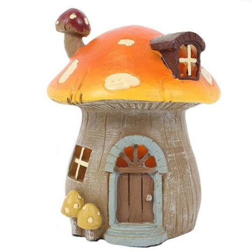 Something Different Mushroom Home With LED Lights