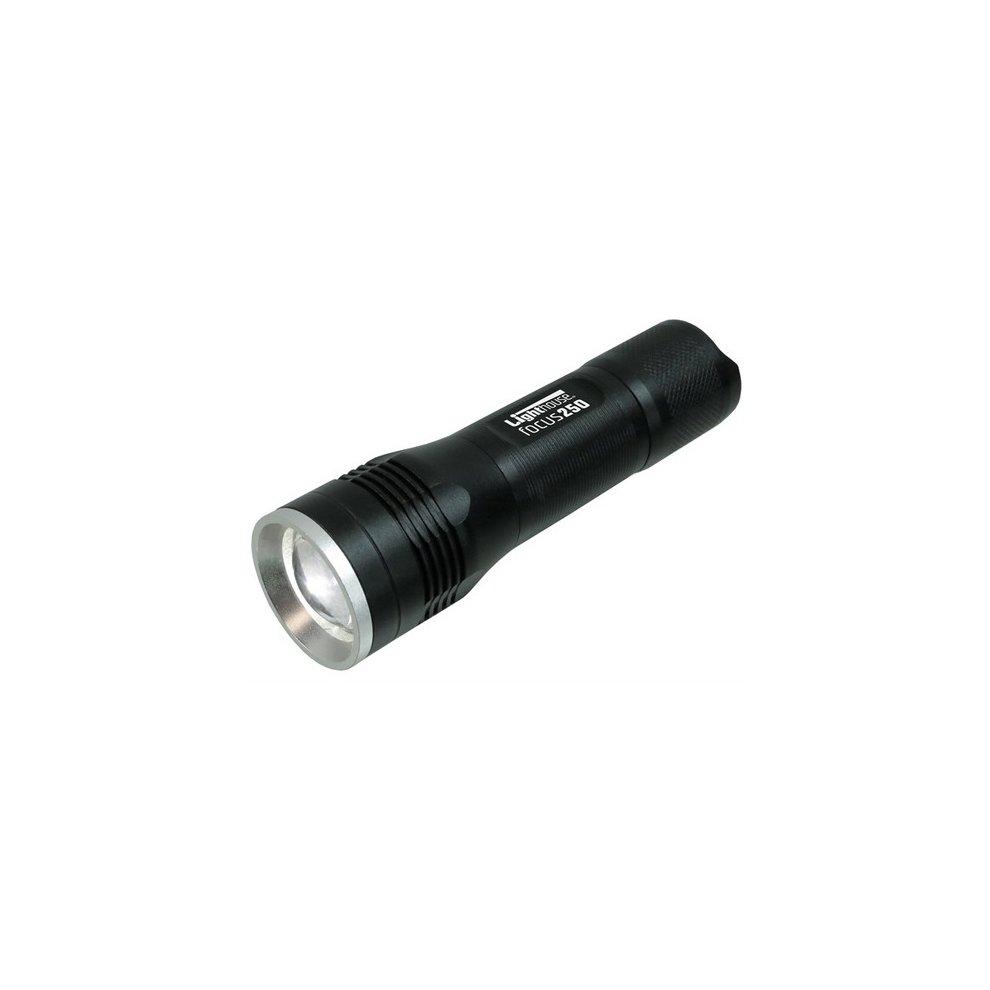 Lighthouse L/HEFOC250 Elite High Performance 250 Lumens LED Torch AAA