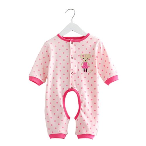 Baby Suit Clothing Long-Sleeved Cotton Baby Crawl Sports Open Fork Cotton I