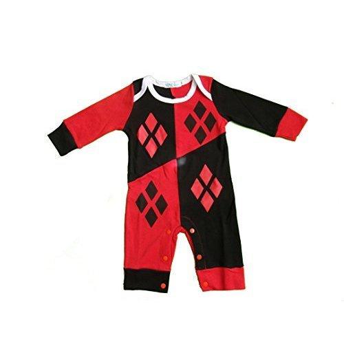Harley Quinn-inspired Baby Infant Superhero
