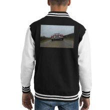 Martyn Goddard Official Photography - Austin Healey Classic Roadster Kid's Varsity Jacket
