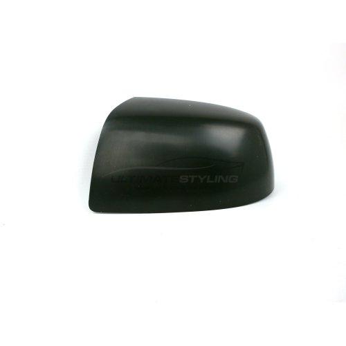 Ford Fiesta Mk6 Hatchback 10/2005-2008 Wing Mirror Cover Cap Black Smooth Finish Passenger Side (LH)