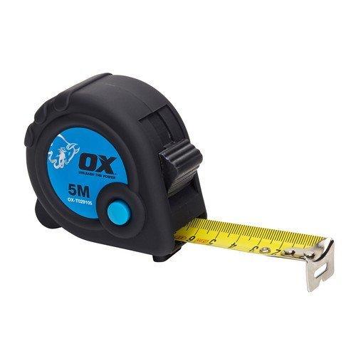 OX T029105 Trade 5m Tape Measure 5 Metre Metric Only