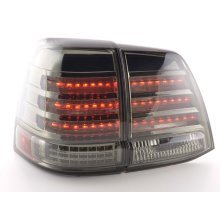 Led Taillights Toyota Land Cruiser Typ FJ200 Year 07-08 black